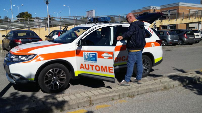 Via al servizio H24 dell'automedica