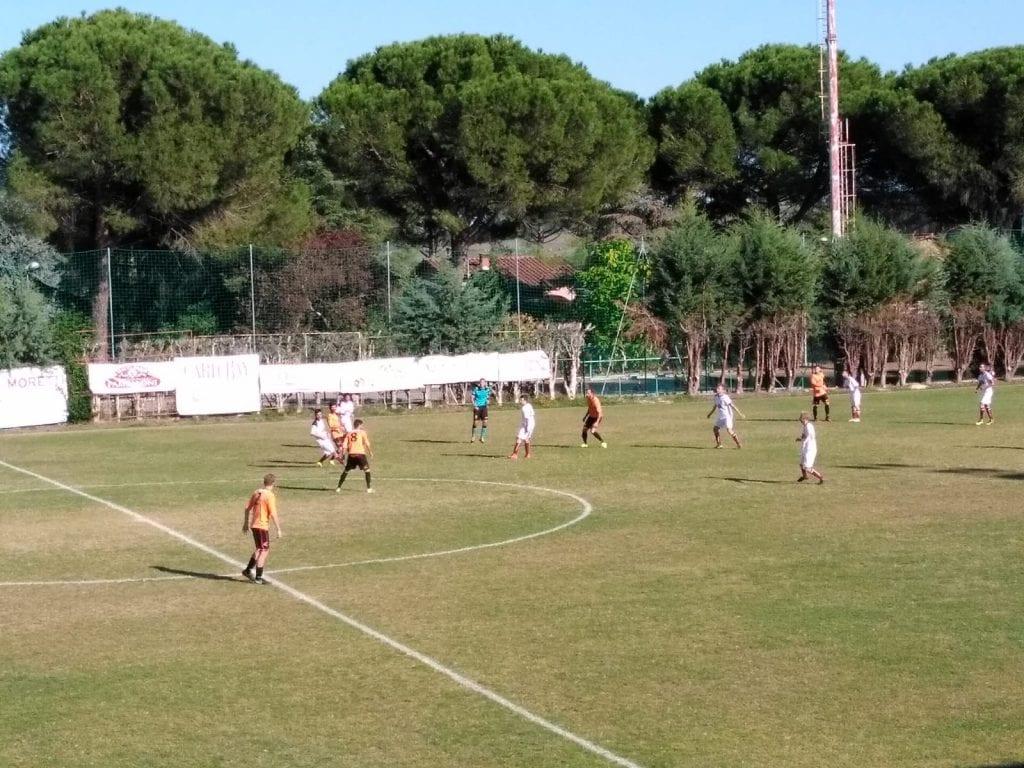 Castelnuovese spietata, Cortona no: arancioni sconfitti