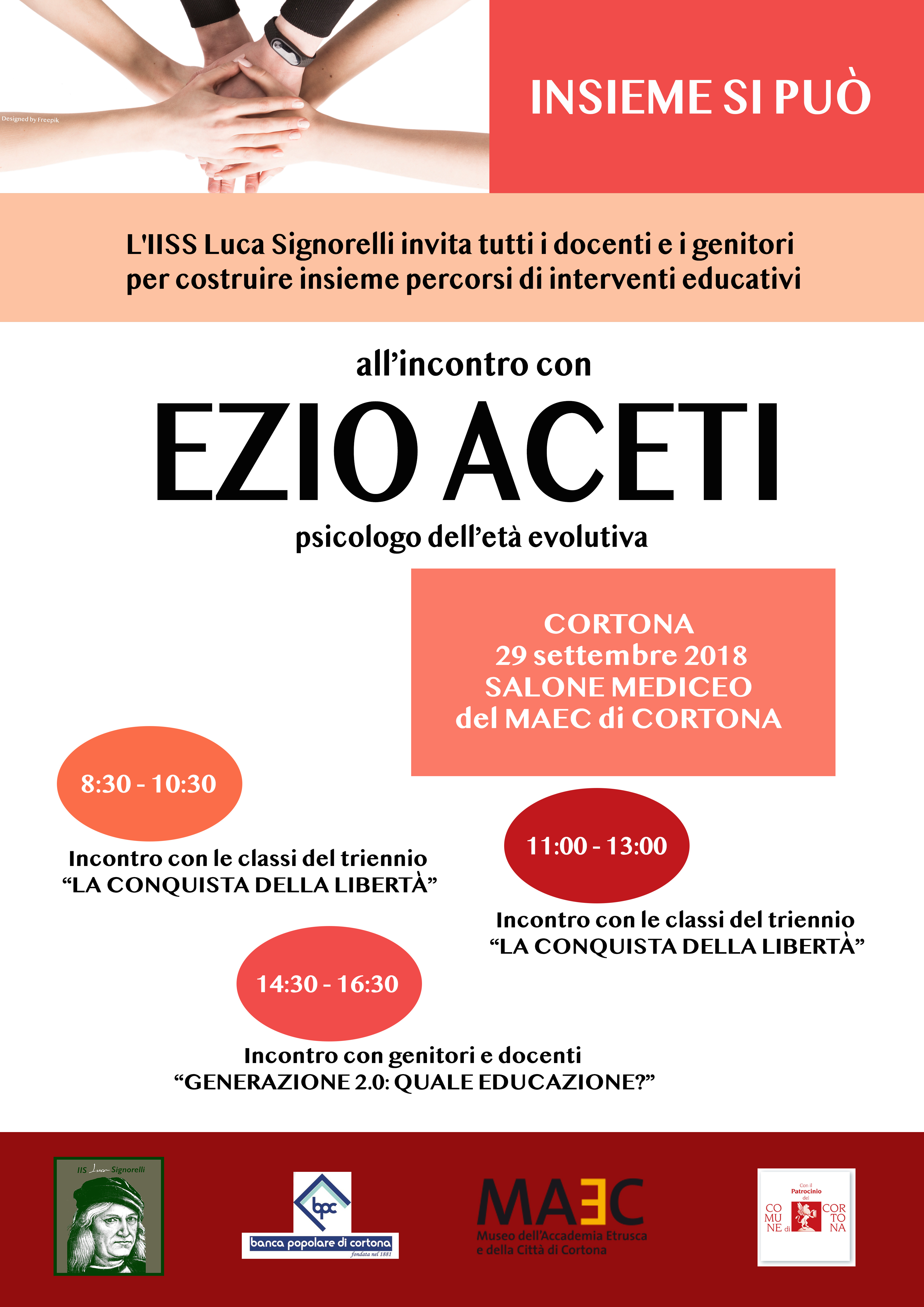 Incontro con lo psicologo Ezio Aceti