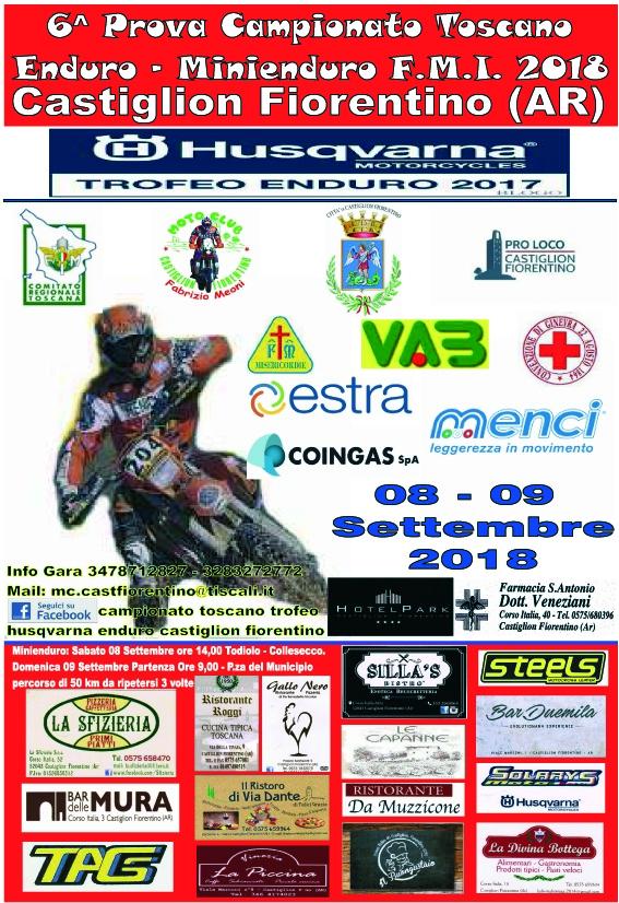 A Castiglion Fiorentino al via il Trofeo Enduro Husqvarna