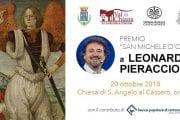 Tutto pronto per il Premio San Michele d'Oro a Leonardo Pieraccioni. Chiesa di Sant'Angelo al Cassero, ore 18.00