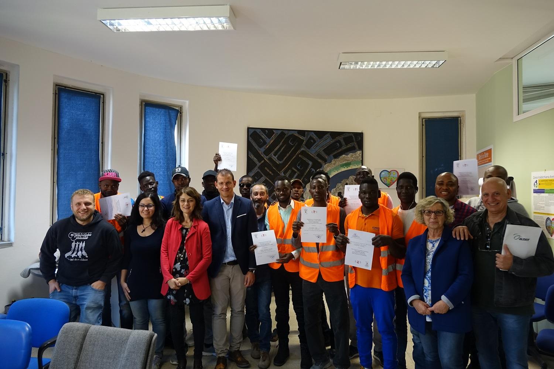 Cortona: bilancio del progetto di partecipAzione dei migranti alla cura dei Beni Comuni