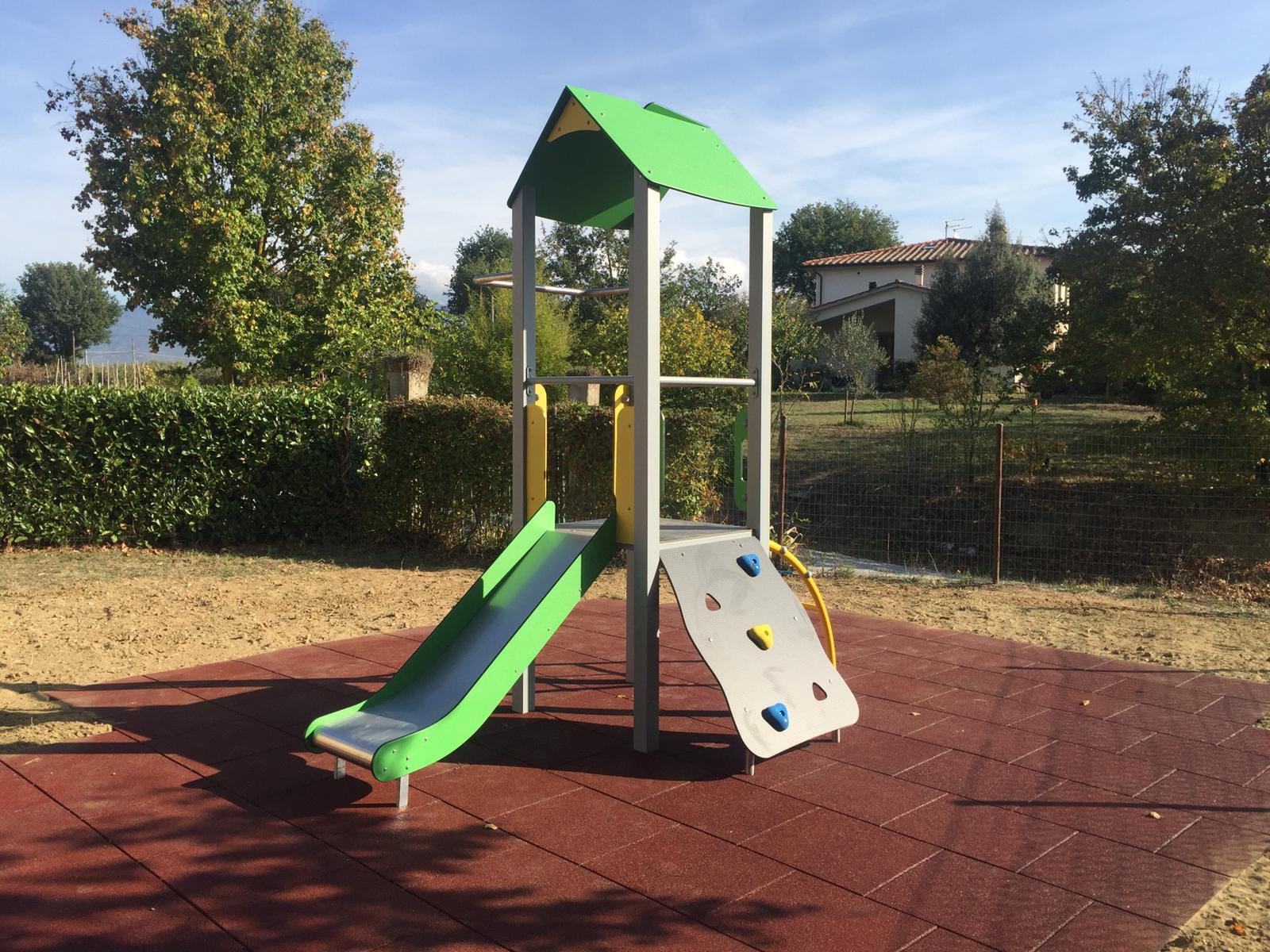 Cortona: interventi sui Parchi Gioco pubblici