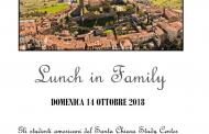 Torna l'appuntamento con Lunch in Family