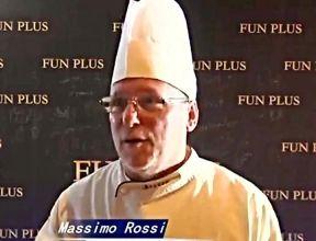Lo chef savinese Massimo Rossi a Boccaccesca