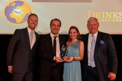 Cannes Tfwa exhibition Bottega prosecco bar premiato come Airport bar of the year