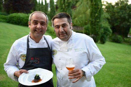 Due aretini il Re della Chianina Simone Fracassi e il maestro pizzaiolo Pierluigi Police tra i protagonisti di Dining with the Star
