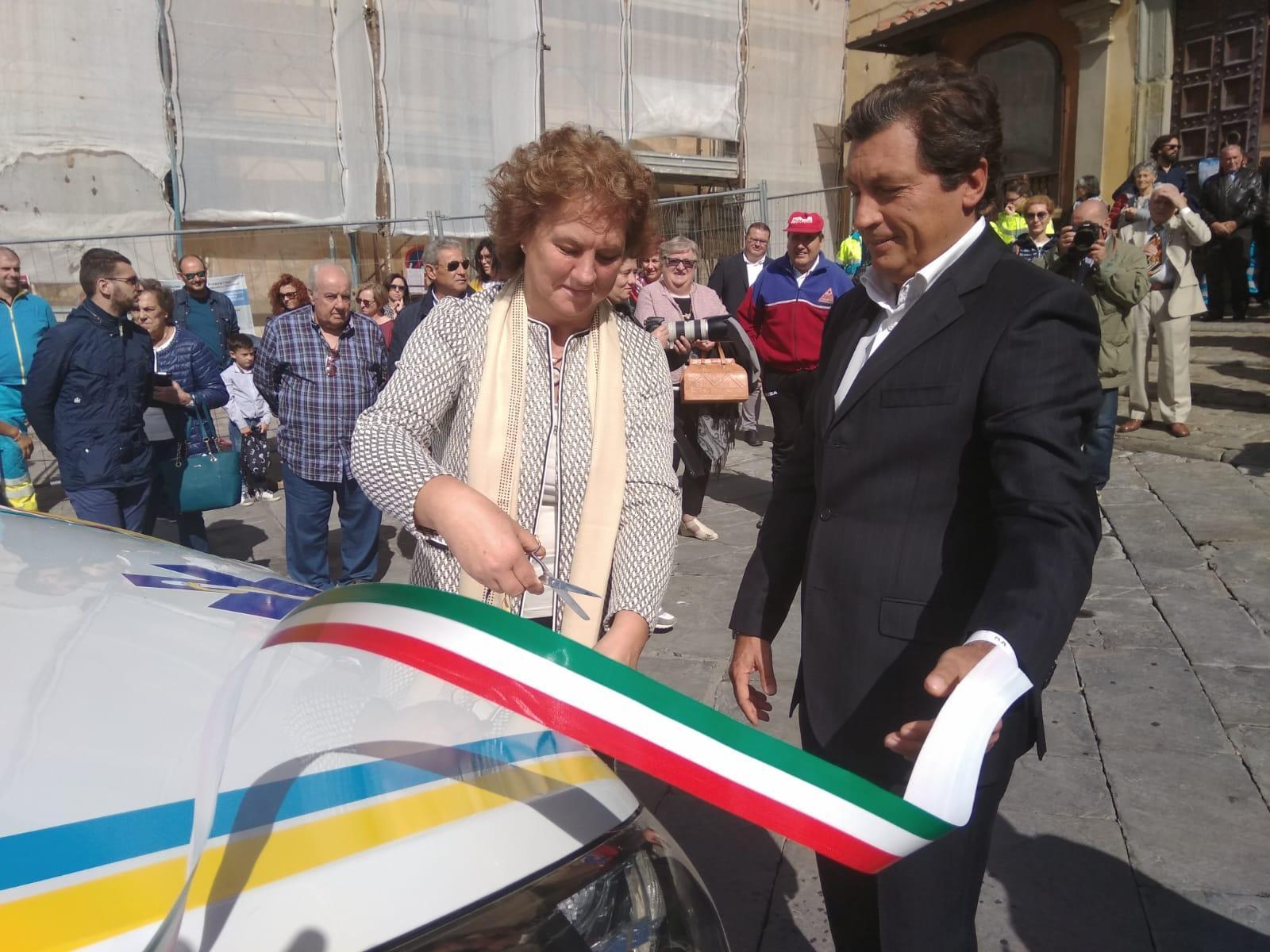Festa della Misericordia: inaugurato pulmino per il trasporto dei servizi sociali