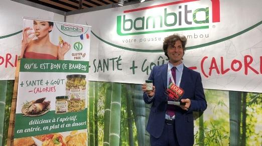 Pesto di bambù Bambita prodotto food più innovativo al Sial di Parigi