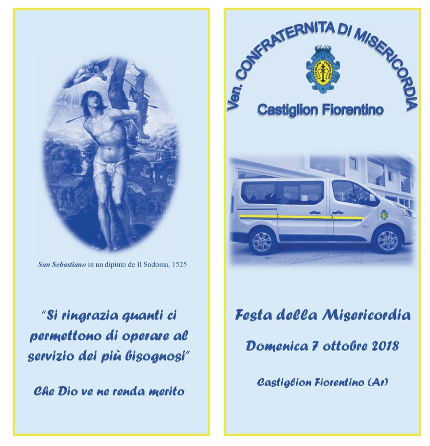 Festa della Misericordia a Castiglion Fiorentino