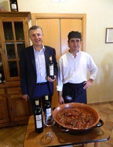 Marco Capitoni ha festeggiato i venti anni della sua azienda abbinando i suoi vini alla cucina lacustre