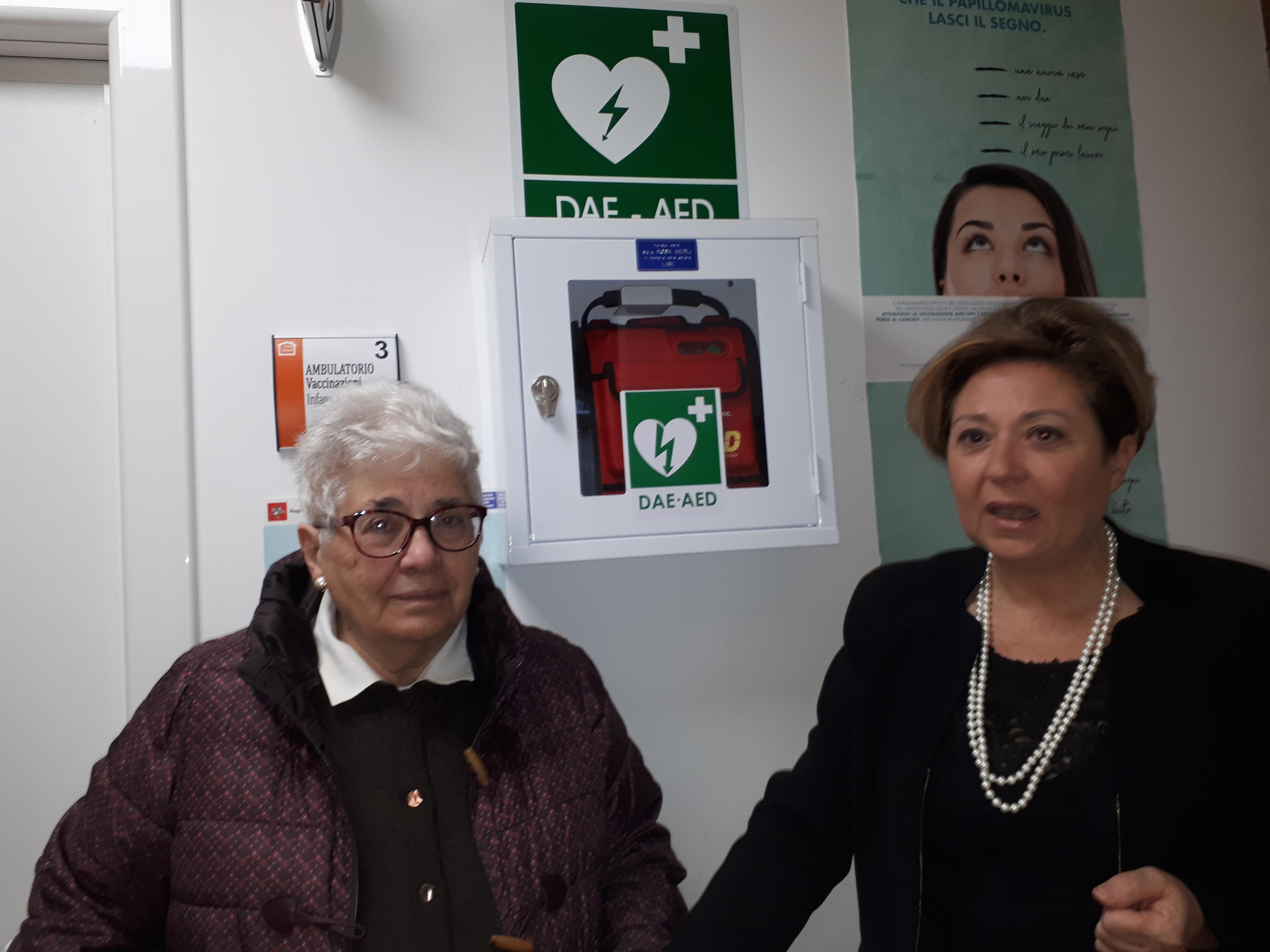 Un defibrillatore per la Casa della Salute di Camucia