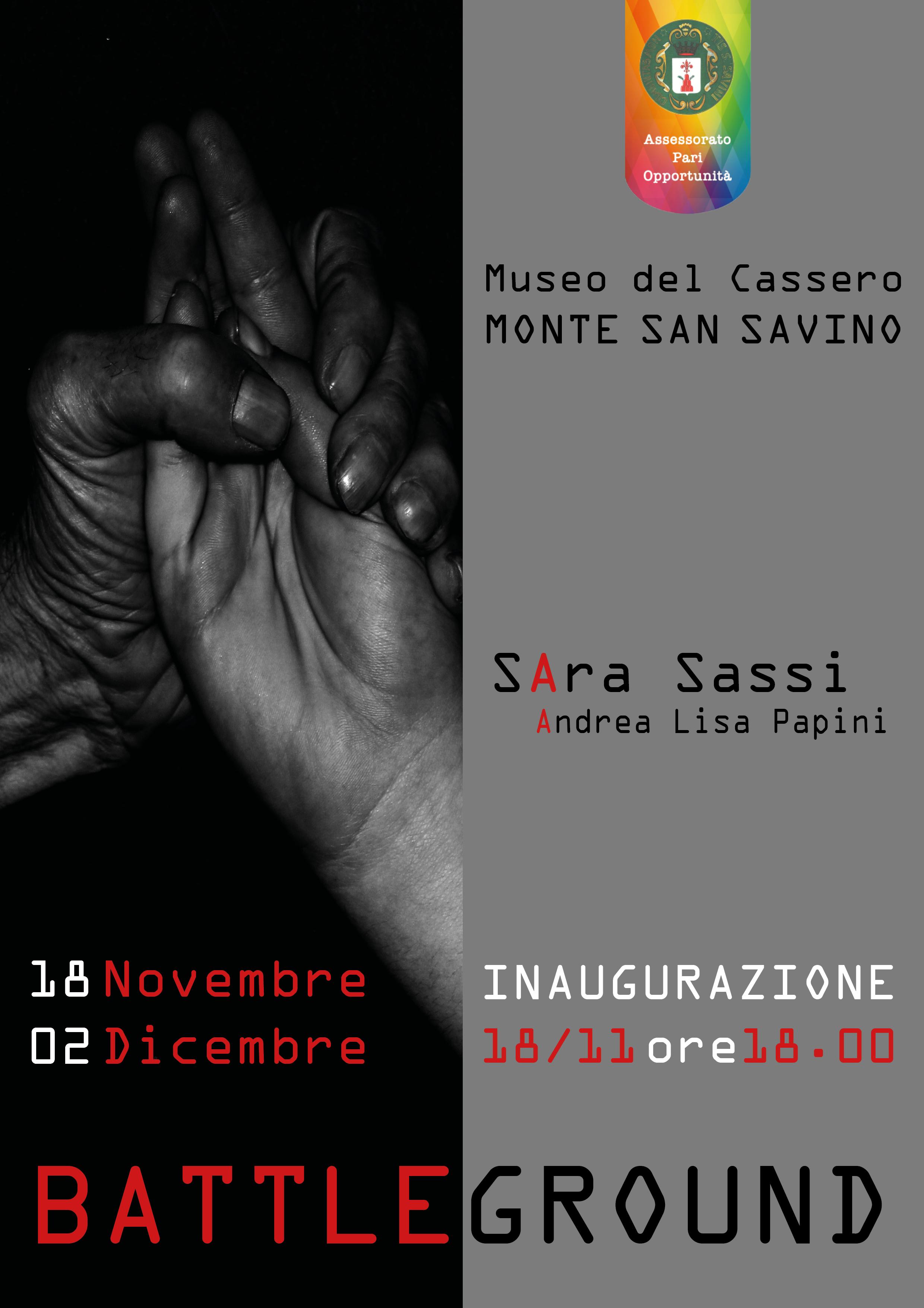 Battleground: il dramma della violenza di genere raccontato in una mostra a Monte San Savino