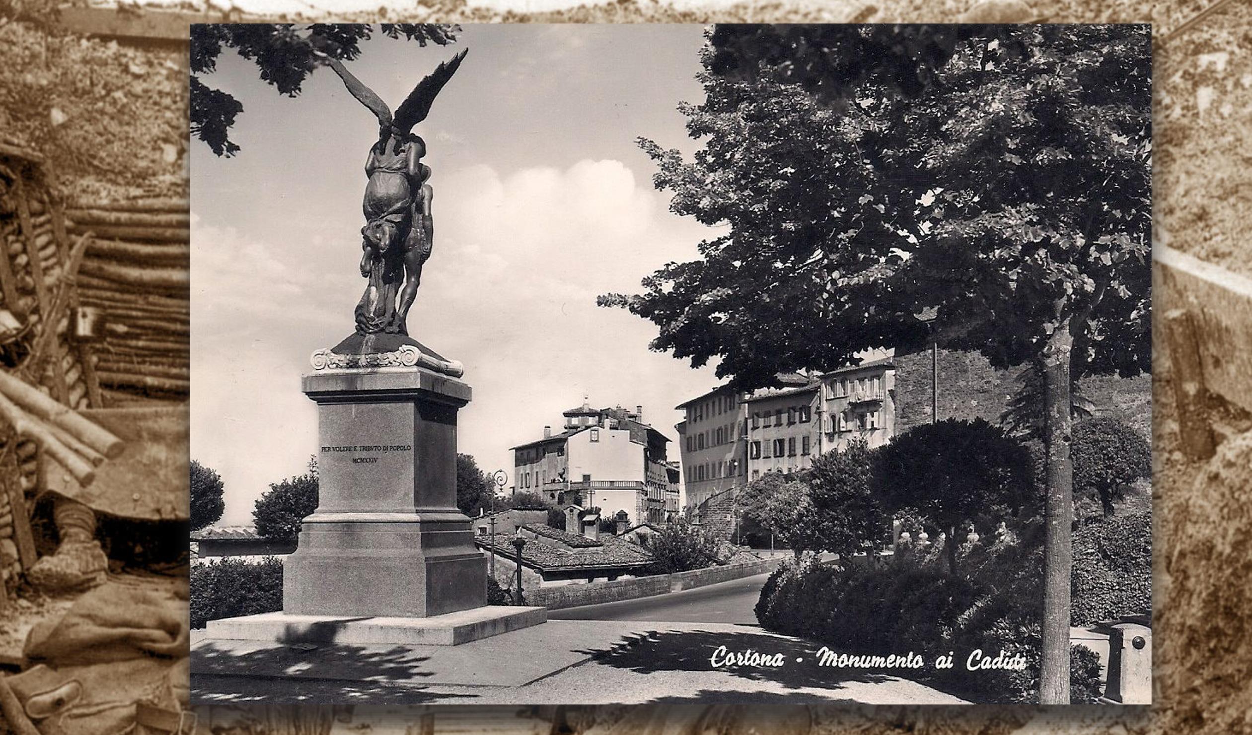 4 Novembre 2018: Cortona ricorda i suoi Caduti a cent'anni di distanza dalla fine della Prima Guerra Mondiale