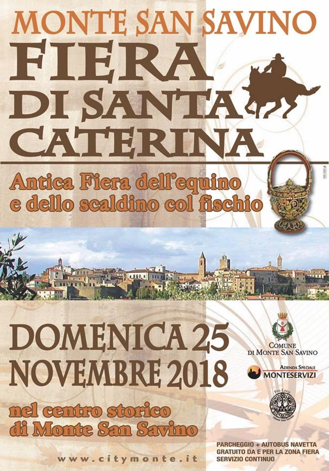 Fiera di Santa Caterina: tanti eventi a Monte San Savino
