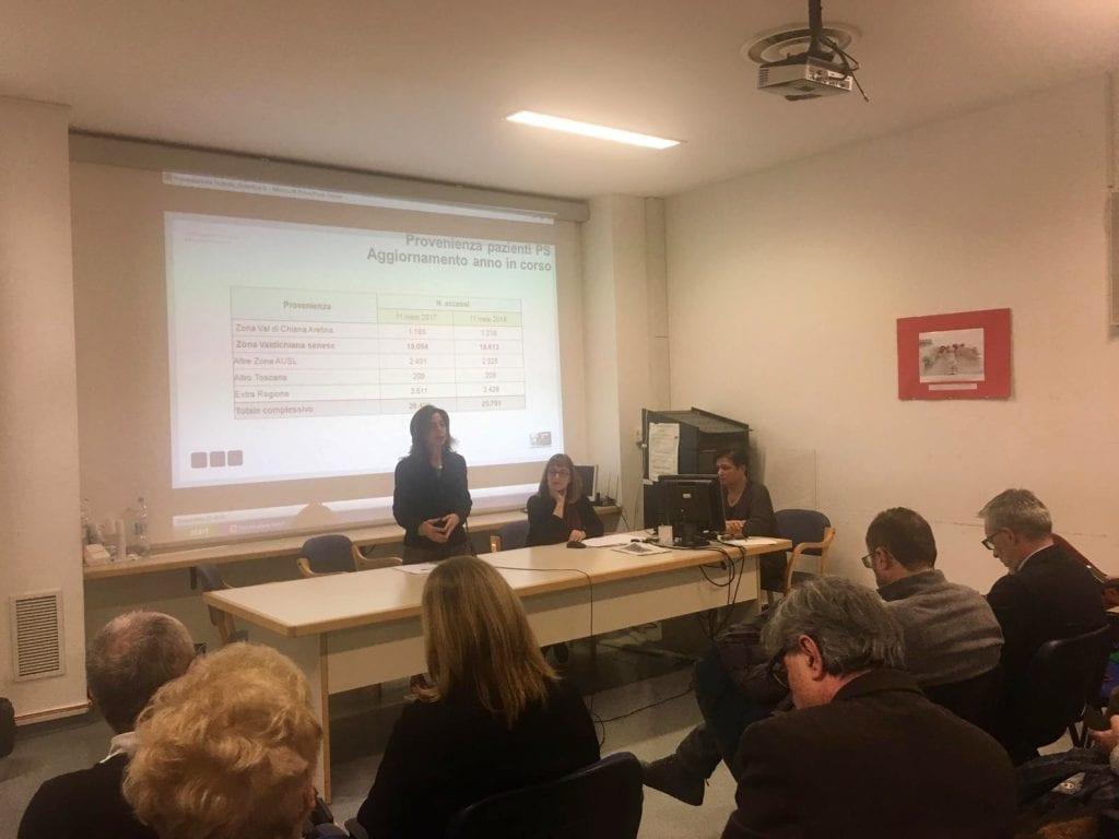 L'Ospedale di Nottola cresce: presentato progetto di riqualificazione del Pronto Soccorso e linee di programmazione