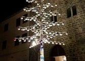 A Deruta l'albero di Natale in ceramica più grande del mondo