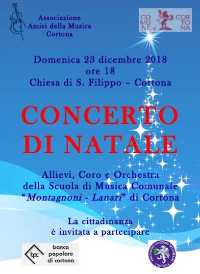 Concerto di Natale degli Amici della Musica a San Filippo