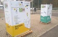 Eco-Compattatori per bottiglie e flaconi in plastica a Camucia e Terontola