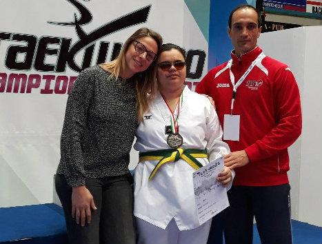 Taekwondo: la castiglionese Sara Luconi vice-campionessa italiana