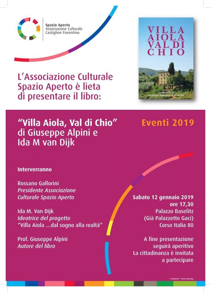 Villa Aiola, Val di Chio: iniziativa dell'Associazione