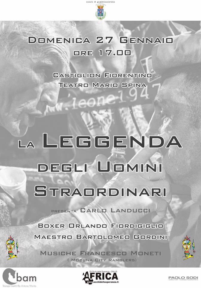 Un evento dedicato a Orlando Fiordigiglio a Castiglion Fiorentino