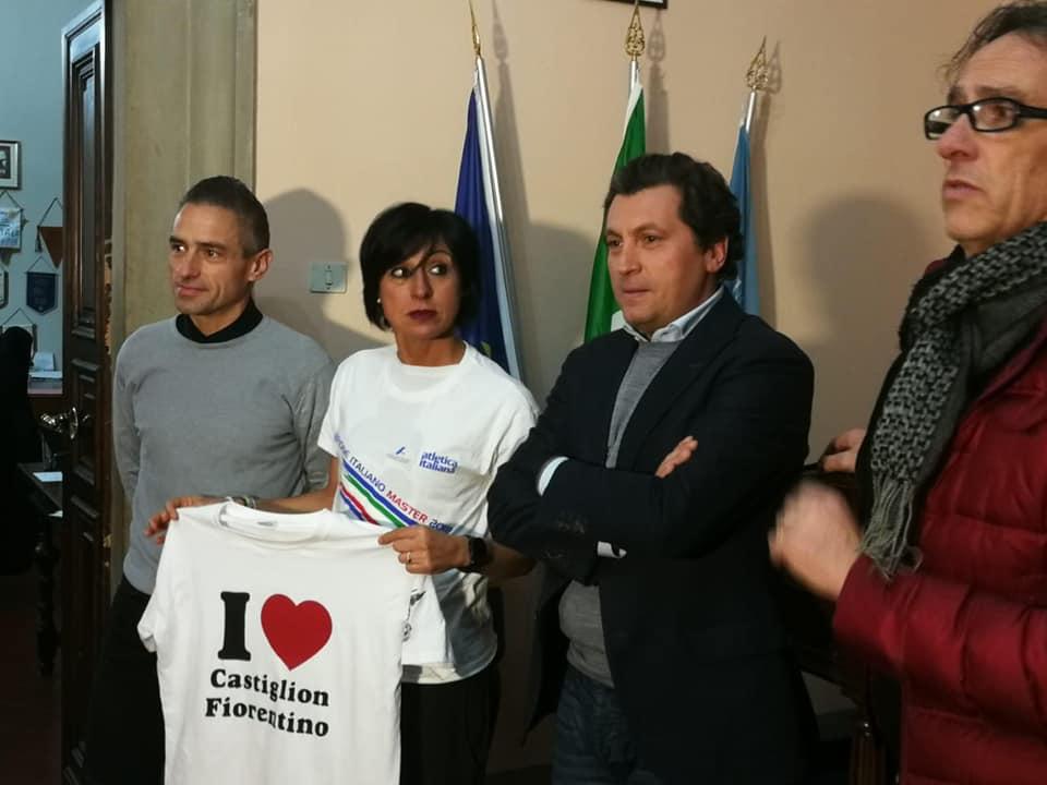 """Federica Moroni, campionessa italiana, incontra l'amministrazione comunale e annuncia """"correrò la Ronda Ghibellina"""""""