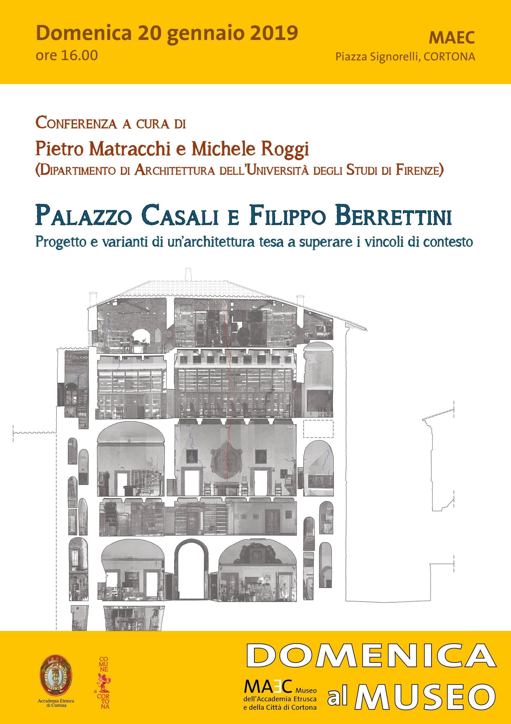Palazzo Casali e Filippo Berrettini per