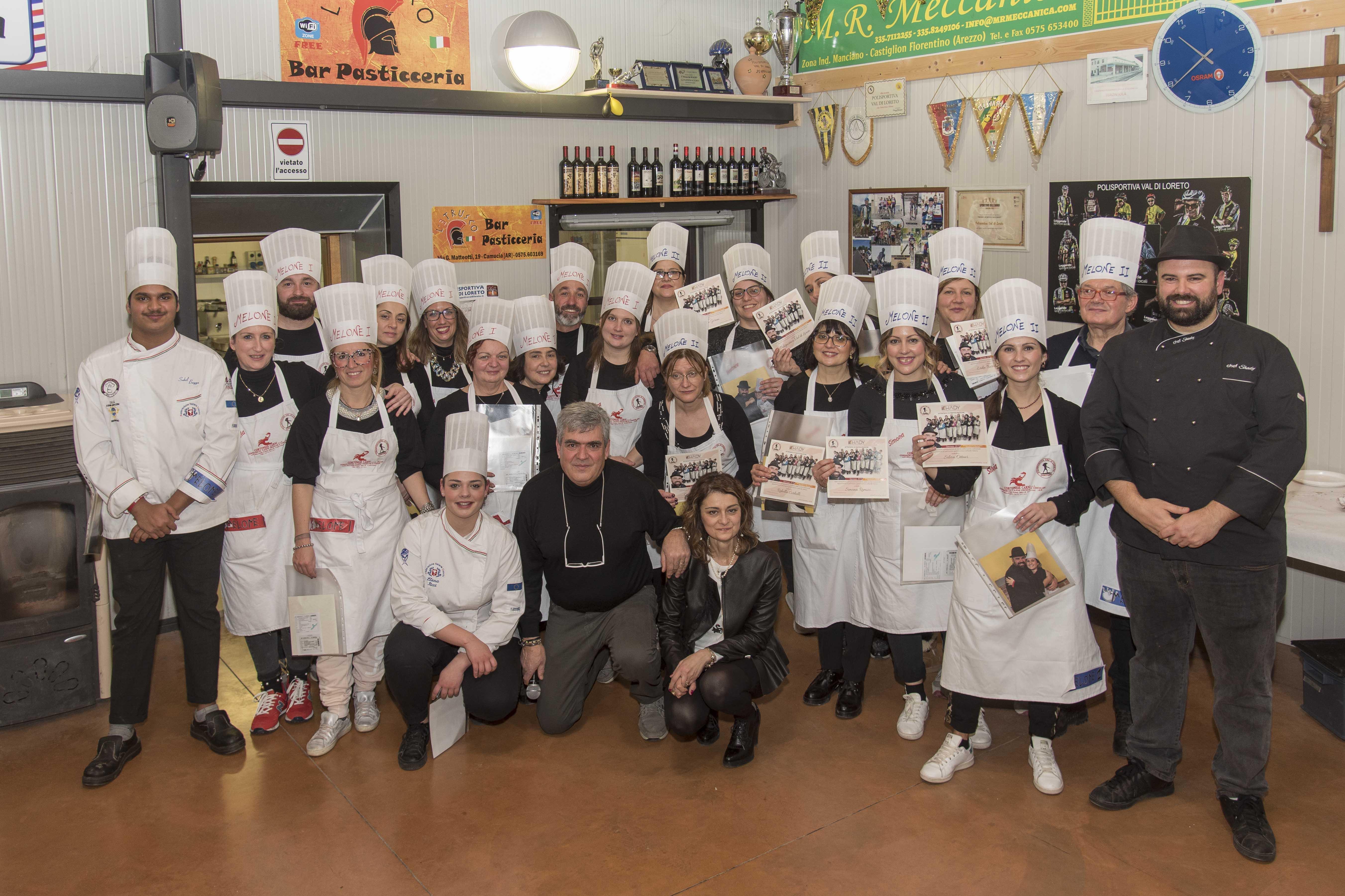 Gran finale del Corso di Cucina a Tavarnelle: una splendida serata
