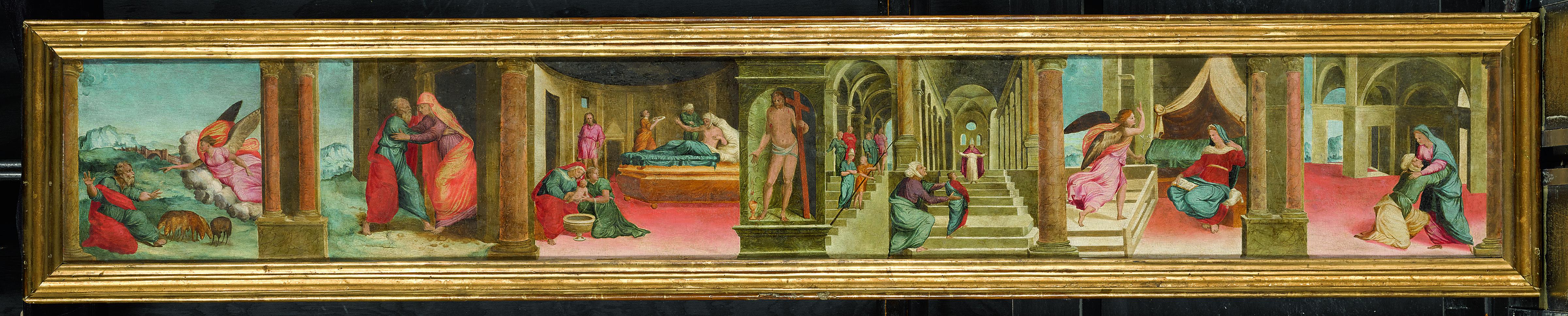 All'Asta da Sotheby's la Predella del Papacello che era al Calcinaio
