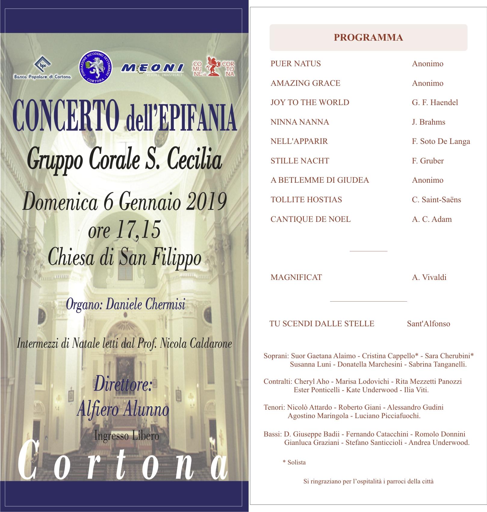 Concerto dell'Epifania a San Filippo