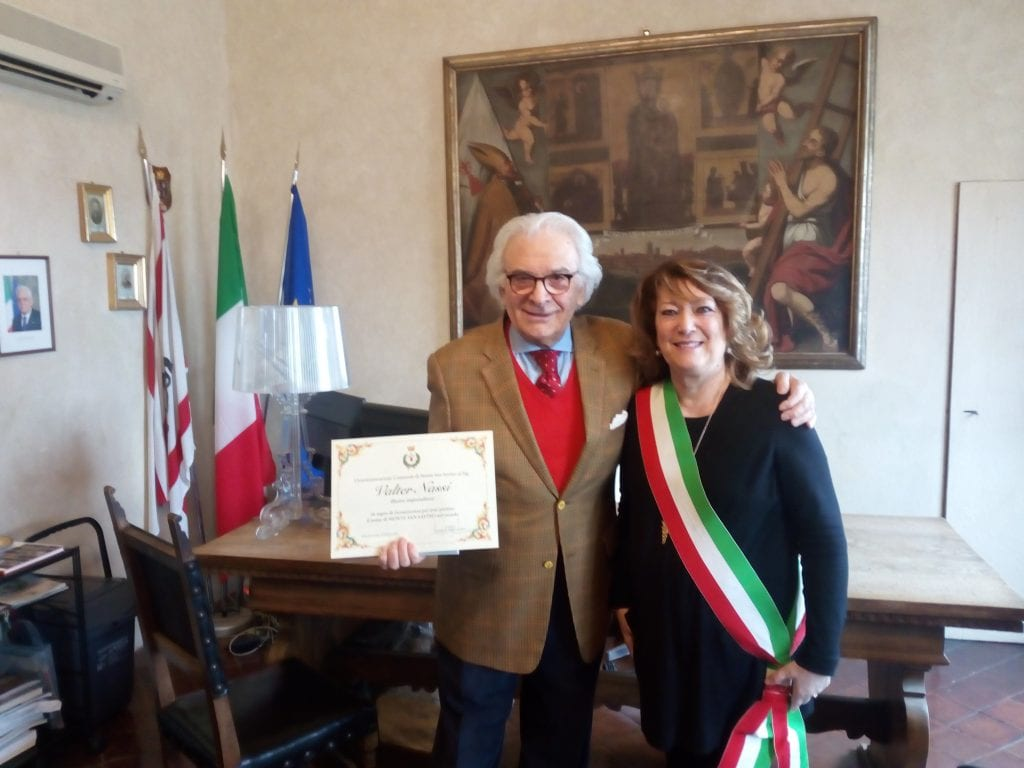 Un riconoscimento per il savinese Valter Nassi, imprenditore di successo negli USA