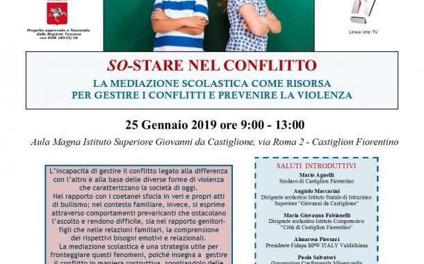 Violenza e Bullismo al centro di un convegno all'Istituto superiore Giovanni da Castiglione