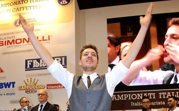 Giacomo Vannelli si conferma Miglior Barista Italiano: ad Aprile i Mondiali