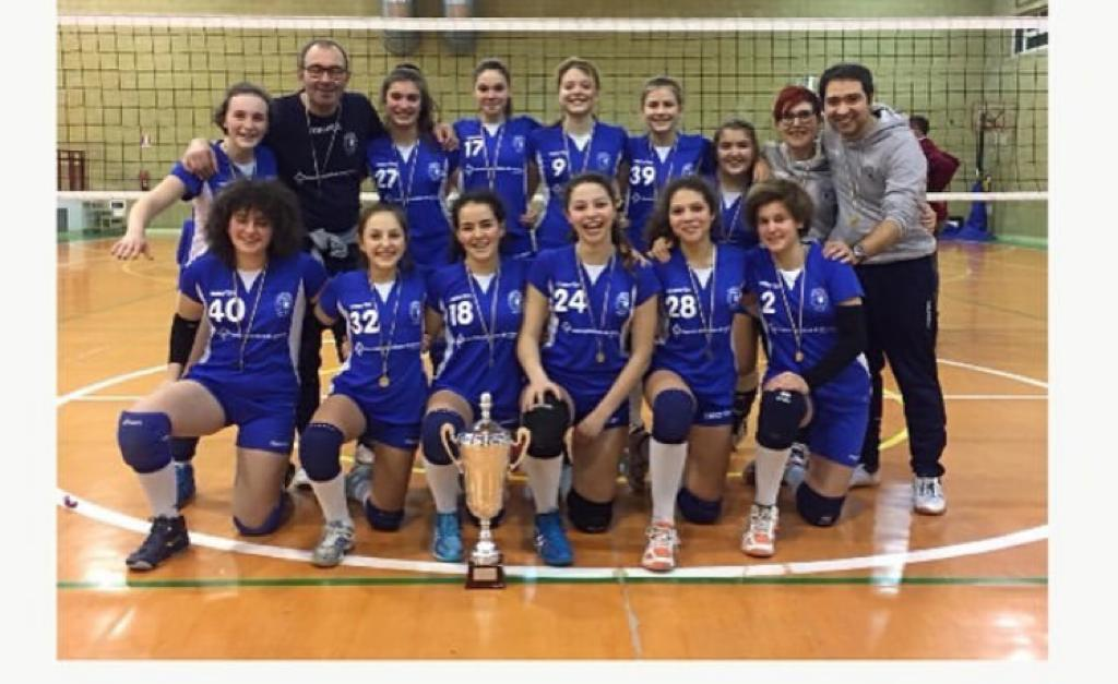 L'Under 14 femminile del Cortona Volley è campione interprovinciale