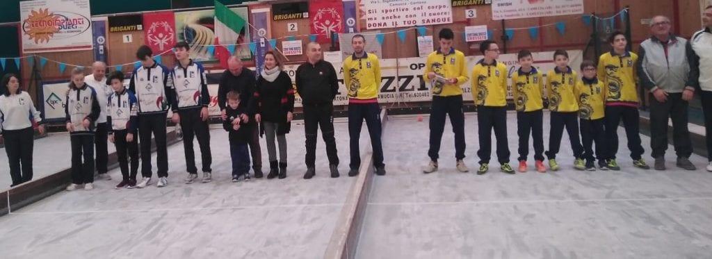 Bocce: a Cortona il via del Campionato Regionale Juniores di società di Raffa
