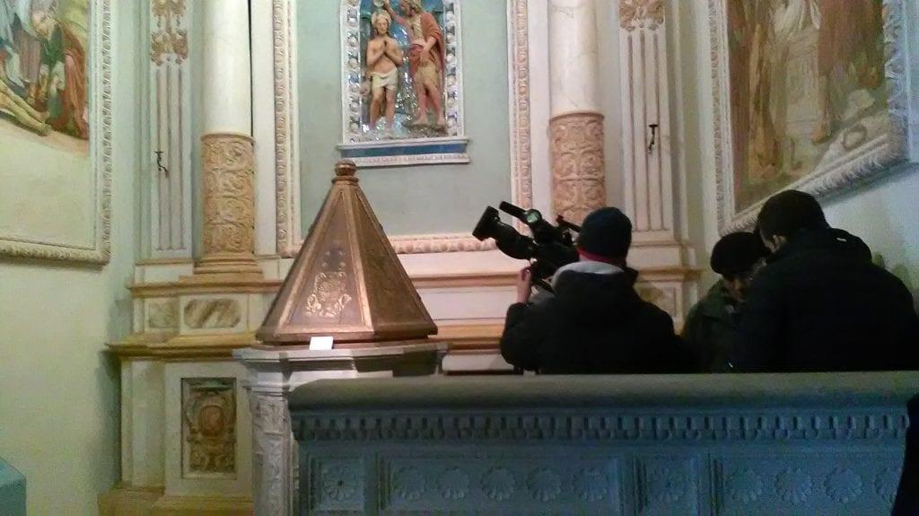 Domenica su Rai Uno la Messa dalla Chiesa della Collegiata
