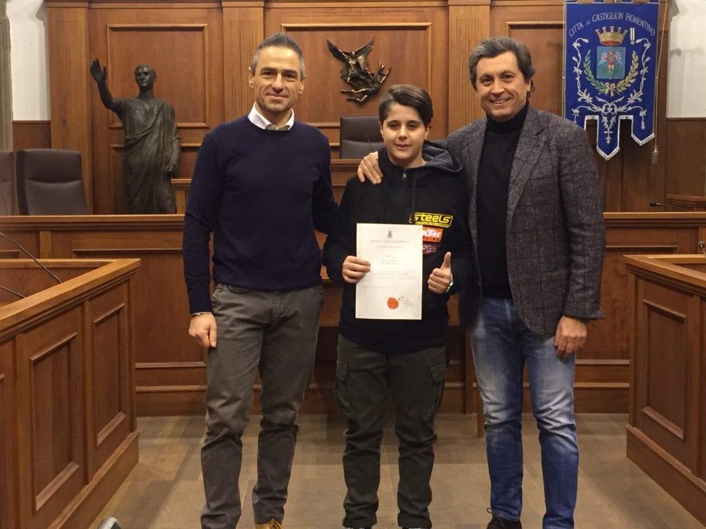13 anni, ma già Campione Regionale: una pergamena per Samuele Pecorari
