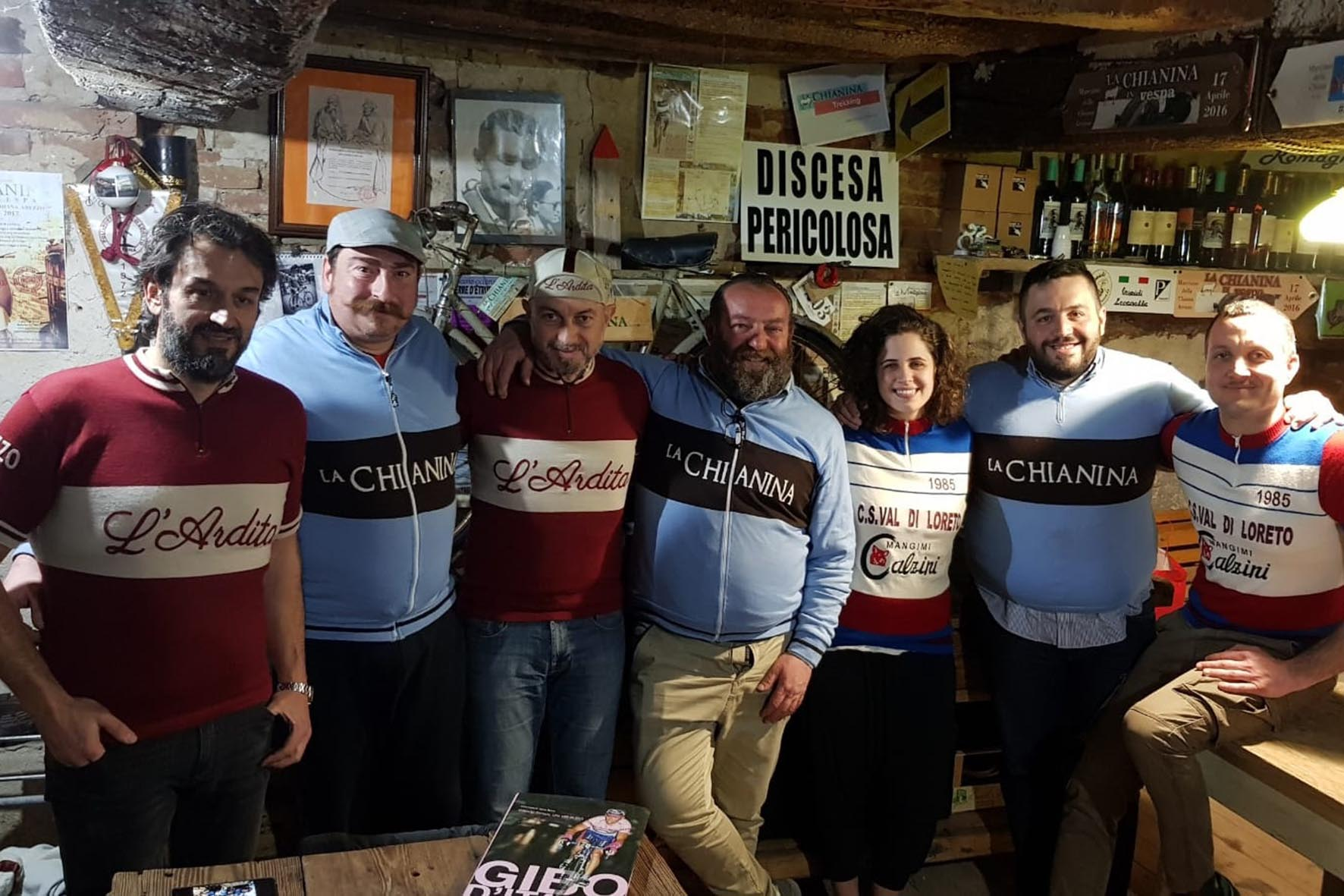 Ardita, Chianina e Cortonese uniscono le forze nel segno del ciclismo storico