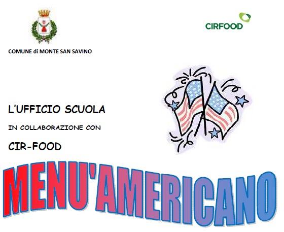 Nelle Scuole di Monte San Savino la settimana del menù americano