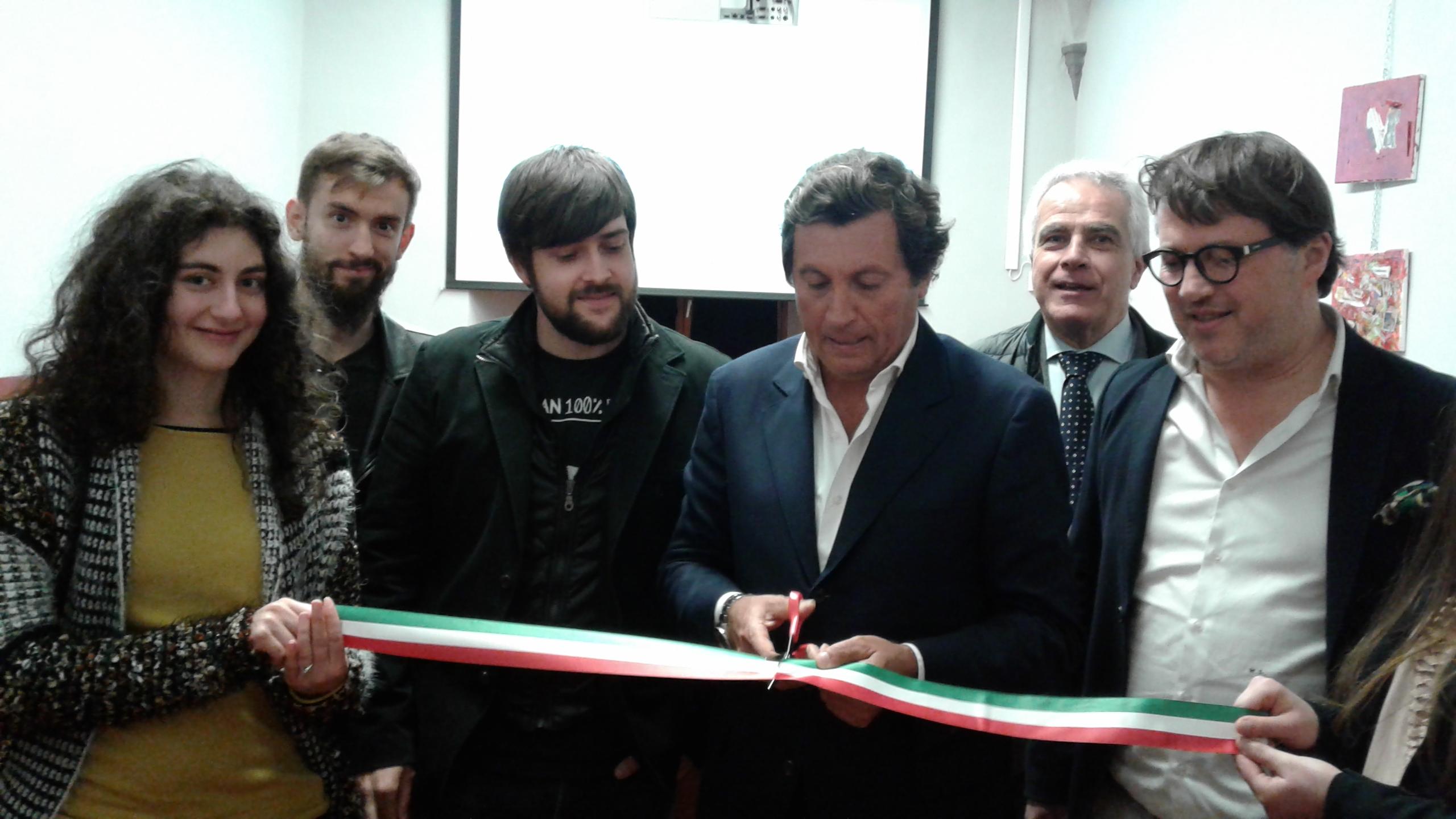 Inaugurato Cantiere 7, lo spazio per il Cinema a Castiglion Fiorentino
