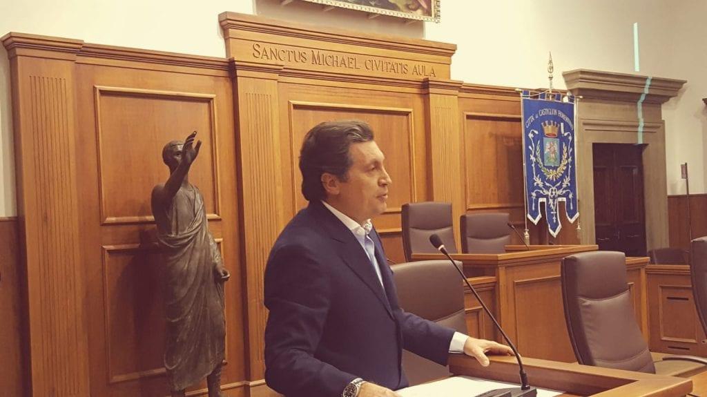 Mario Agnelli si ricandida a Sindaco