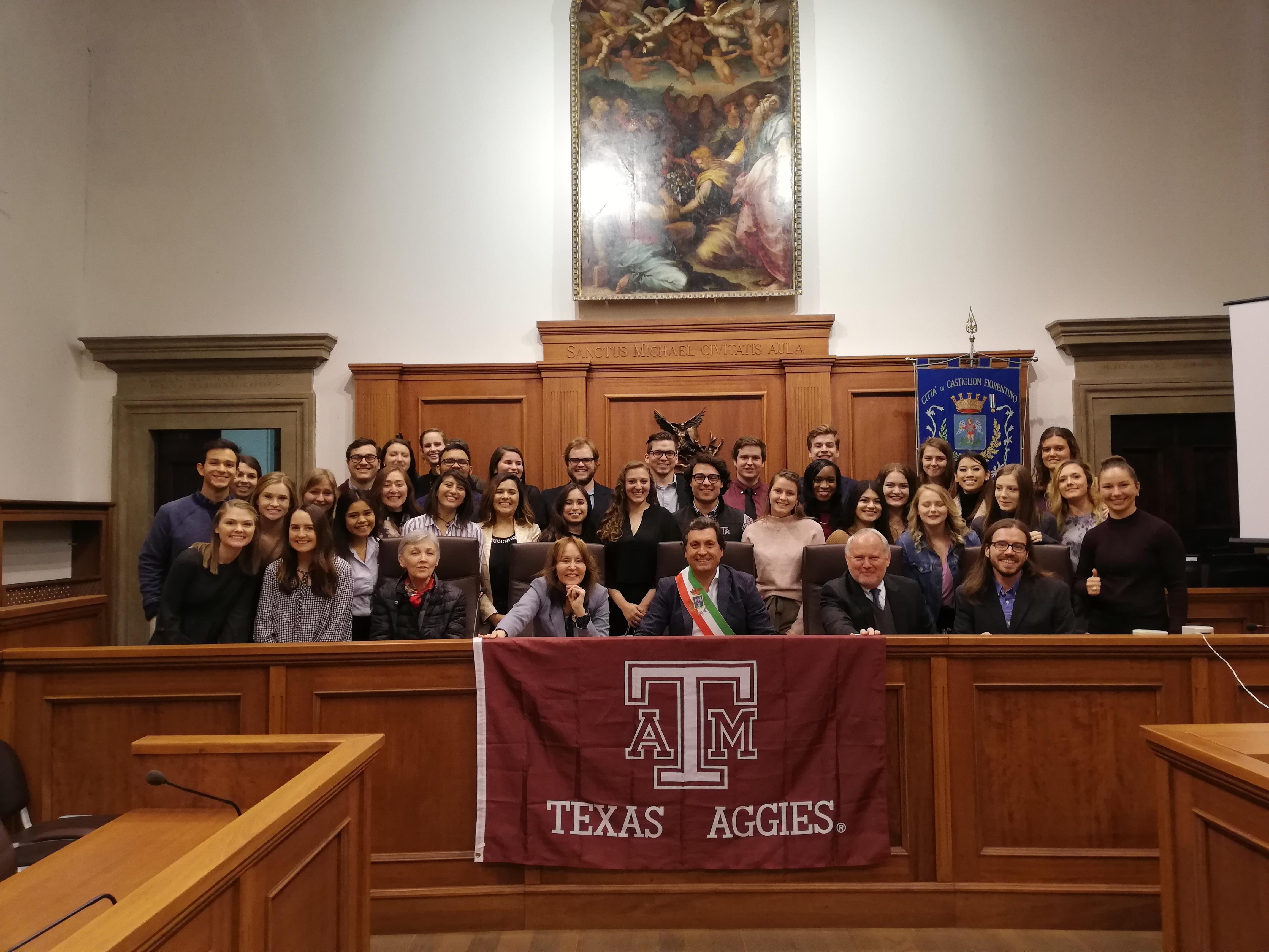 Arrivati gli studenti americani al college Santa Chiara Study Centre