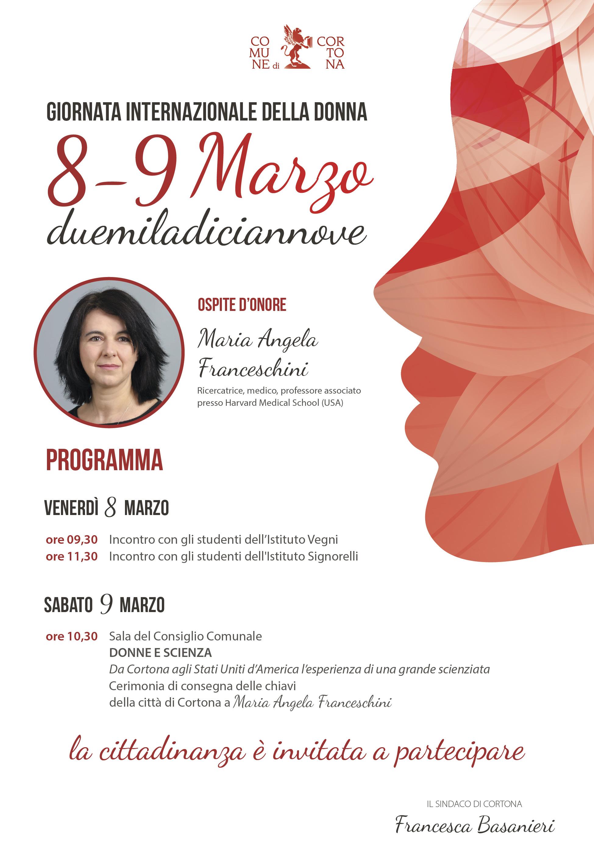 Giornata Internazionale della Donna, le iniziative a Cortona