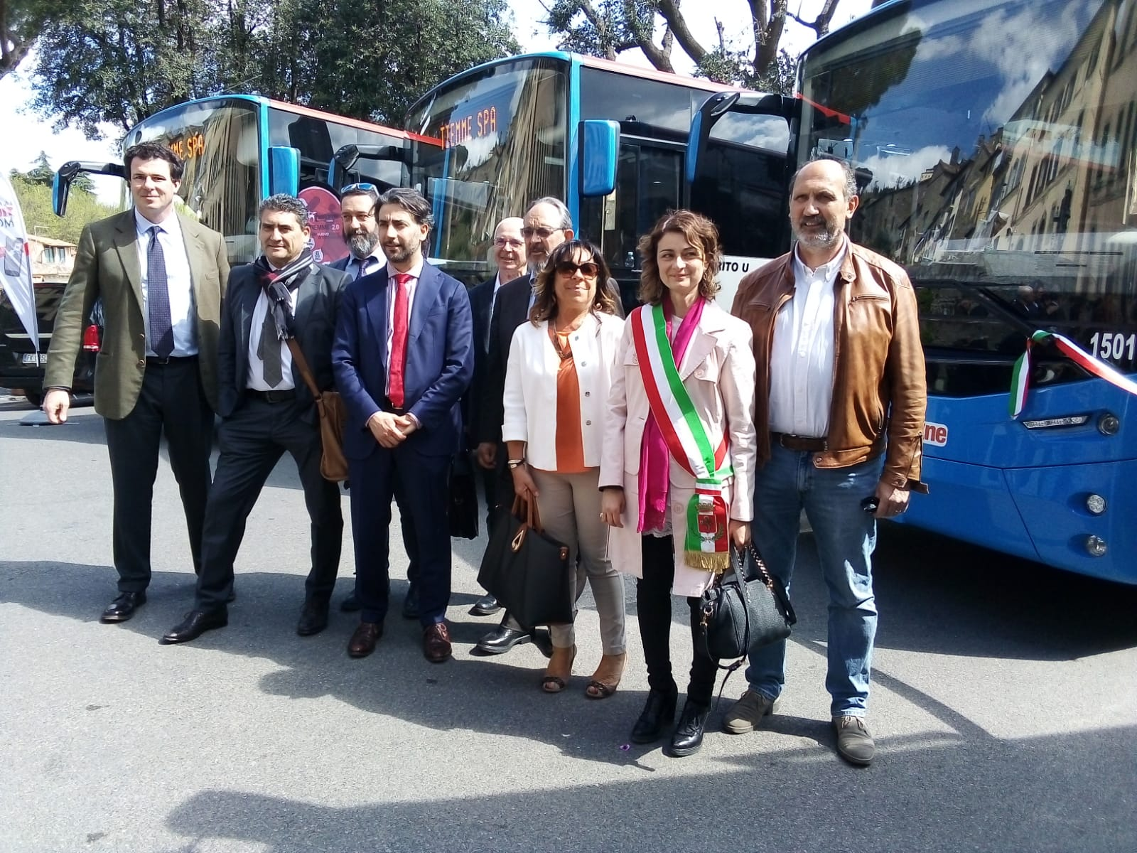 Tiemme inaugura 5 nuovi bus extraurbani