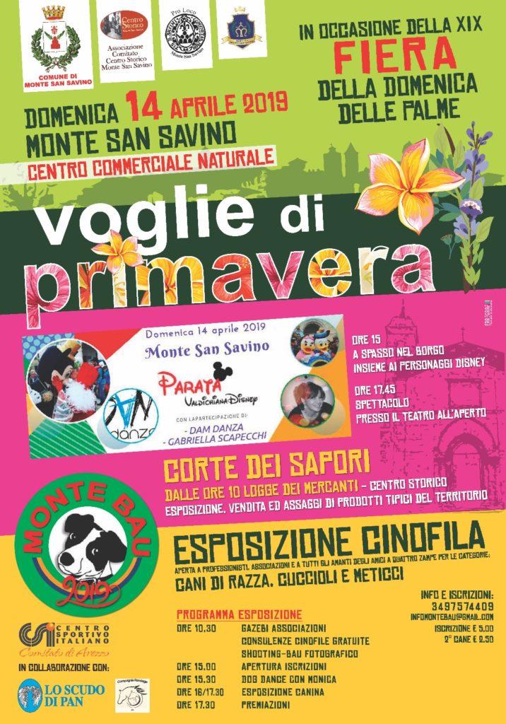 Monte San Savino, torna la Fiera della Domenica delle Palme con tanti eventi e novità