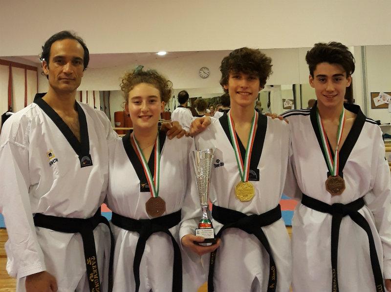 Risultati importanti per gli atleti della NRGYM ai campionati italiani di Taekwondo