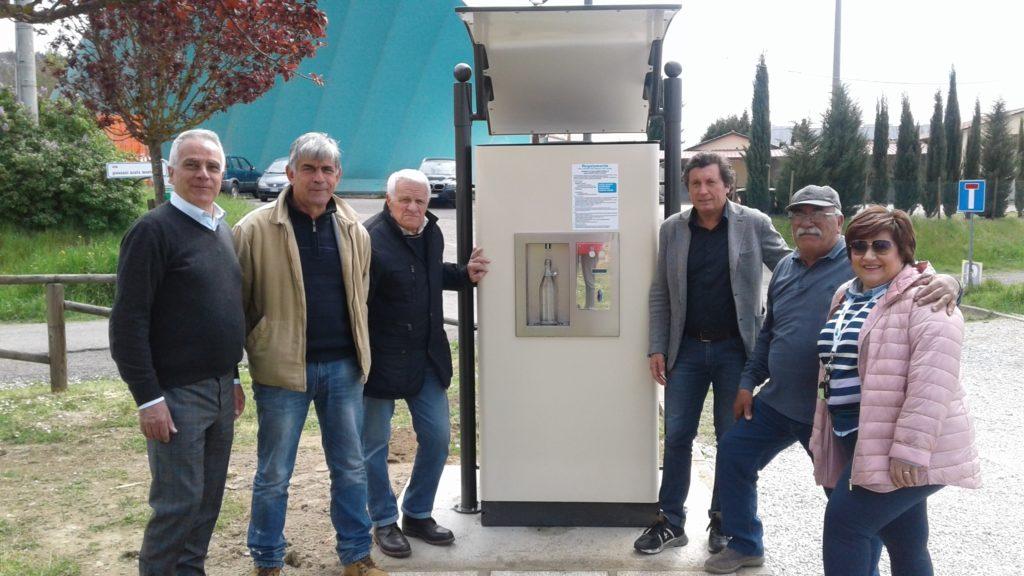 4 fontanelle pubbliche installate nel territorio castiglionese
