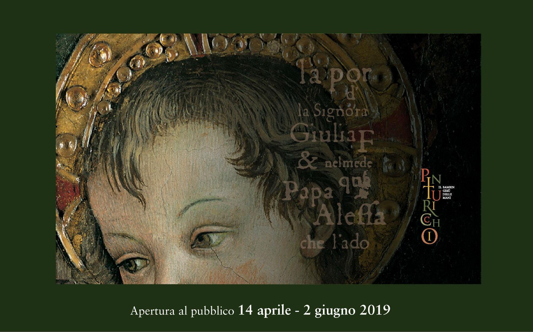 A Cortona il Bambin Gesù delle Mani di Pinturicchio