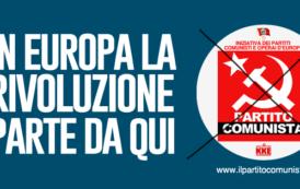 Dalle Europee a Cortona per costruire un grande e forte Partito Comunista